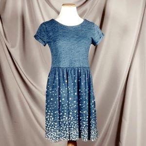 GAP Cinched waist Tshirt Dress